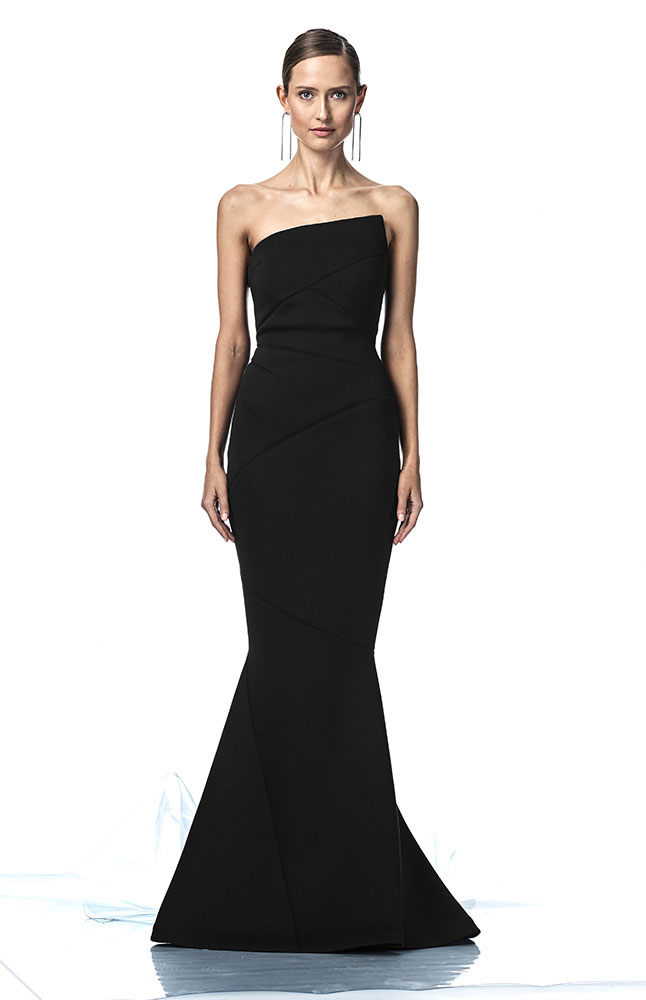 ADELIA GOWN BLACK