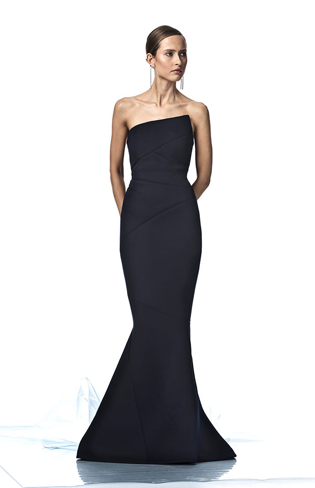 ADELIA GOWN NAVY