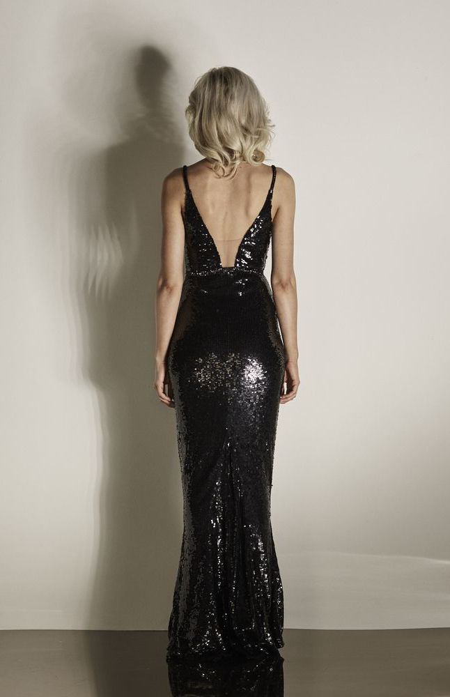 Bridie Gown Back