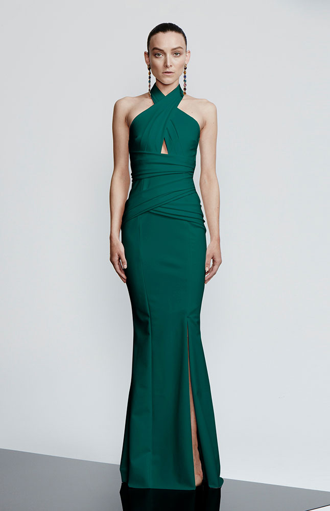 SABELLE GOWN EMERALD