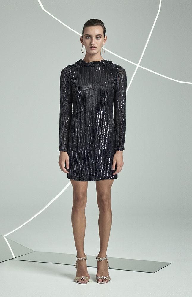 Samarah Dress NVY FRONT