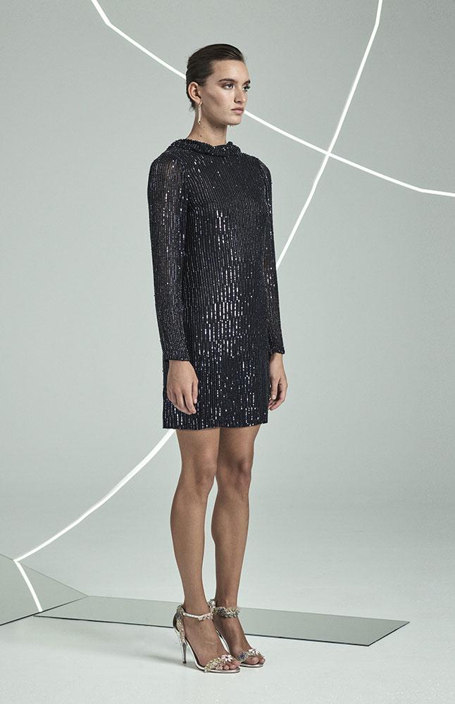 Samarah Dress NVY ANGLE